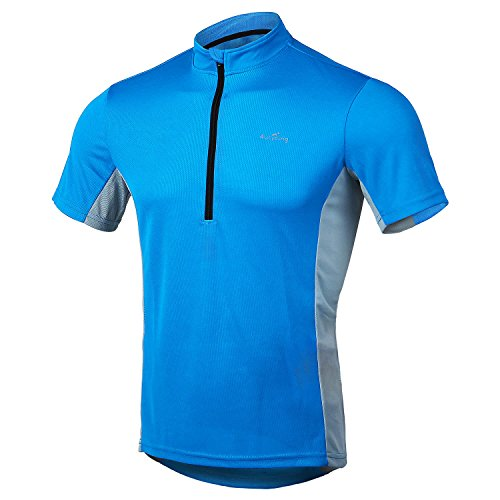 Jersey - US Size Men's Shirts for Running Exercise Fitness ()