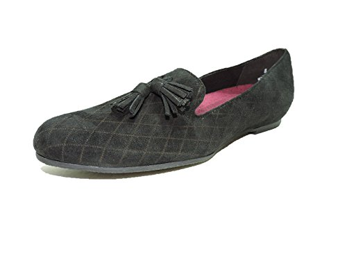 Munro Tallie Black Suede Flats Women's Slippers Loafers size 8 AA,Narrow by Munro