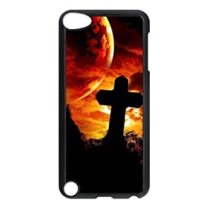 Custom Cross Back Cover Case for ipod Touch 5 JNIPOD5-048