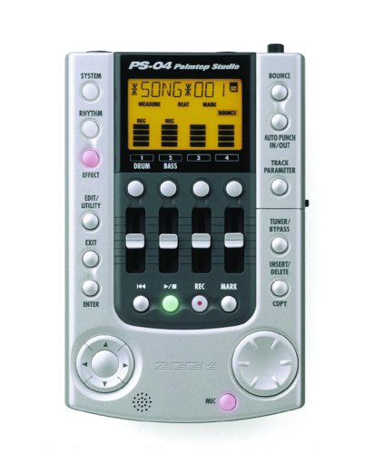 Zoom PS04 Palmtop Studio Multitrack Digital Recorder (4 Tracks) ()
