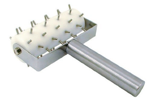 Update International RD-5 Stainless Steel Pizza Roller Docker, 8-Inch by Update International