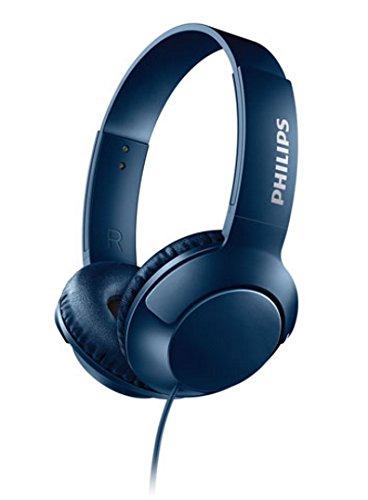 Philips Bass+ SHL3070BL - Auriculares con Cable (Bajos potentes, Plegables, Ligeros y Elegantes) Azul: Amazon.es: Electrónica