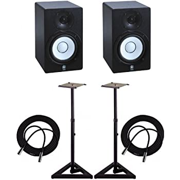 yamaha hs5 powered studio monitor musical