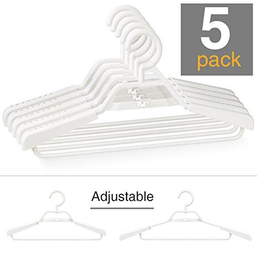 5 Pack Plastic Hangers - 1
