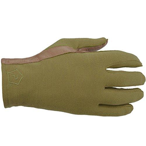 Pentagon Men's Short Cuff Pilot Gloves Coyote size S -