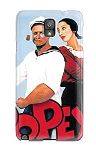 Kim L Washington YbztKOQ1531ODlHq Case Cover Galaxy Note 3 Protective Case Popeye Christmas Images