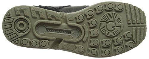 Adidas Zx Flux Plus, Chaussures de Running Mixte Adulte, Vert (Utility Grey/Utility Grey/Ftwr White), 38 2/3 EU