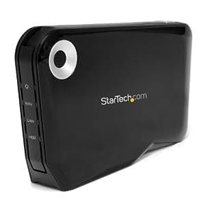 StarTech.com Wireless 2.5-Inch External SATA Hard Drive HDD Enclosure with USB and Wi-Fi (S2510U2WF)