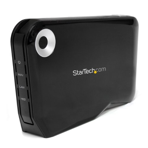 StarTech.com Wireless 2.5-Inch External SATA Hard Drive HDD Enclosure with USB and Wi-Fi (S2510U2WF) by StarTech