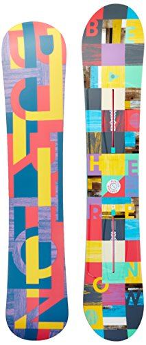 Tip Skis Vertical Twin (Burton Women's Feather '17 149 Multi Snowboard)