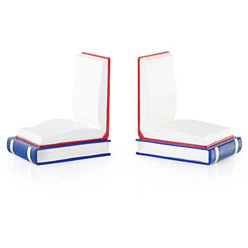 - Guidecraft Hand Painted Open Book Bookends, Kids Furniture and Classroom Decoration