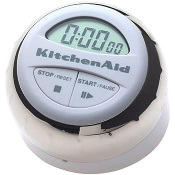 KitchenAid KG150 Digital Timer, White