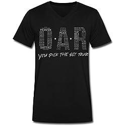 SR BIG boy's O.A.R. tour men's t shirt Black L