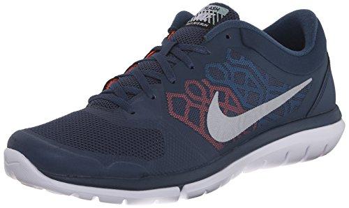Nike Mens Flex Run 2015 Flash Running Shoe#807176-406 (10.5)
