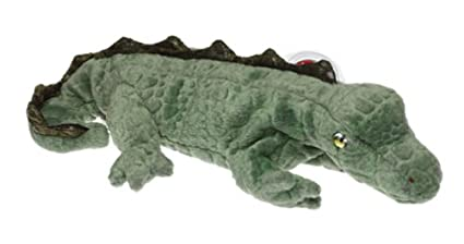 Amazon.com  Ty Beanie Babies Swampy - Alligator  Toys   Games 48c77d28515