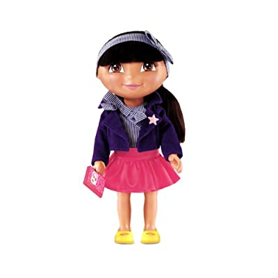 Fisher-Price Dora The Explorer Dress Up Collection School Time Fashion: Toys & Games