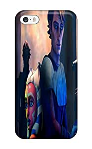 Fashionable Style Case Cover Skin For Iphone 5/5s- Star Wars Clone Wars