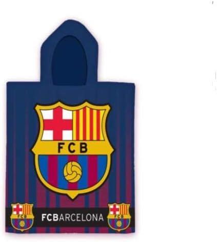 Sergio Correia Poncho Playa Microfibra FC Barcelona 70x140