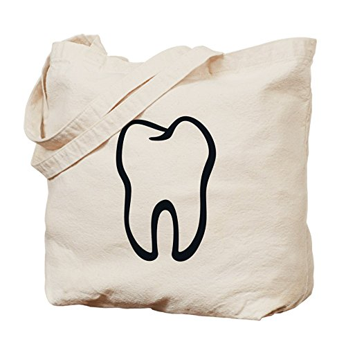 CafePress Unique Design Tooth / Zahn / Dent / Diente / Dente / Tand Tote B by CafePress