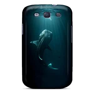Galaxy S3 Case Cover With Shock Absorbent Protective RZVWQjc5206aDHFw Case