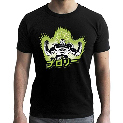 Black Broly Ball Dragon Abystyle Homme Super Tshirt 7B14qW