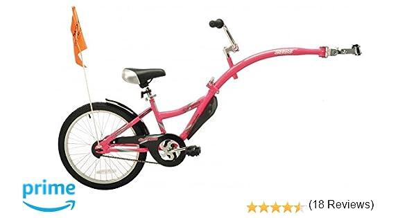 WeeRide 86459 Bicicleta Remolque Copilot, Niñas, Rosa, M: Amazon.es: Deportes y aire libre