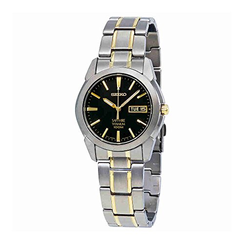 Seiko Men's SGG735 Titanium Titanium Two Tone Bracelet Watch ()
