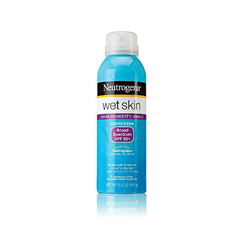 Neutrogena Wet Skin Sunscreen Spray, SPF 85+, 5 Ounce