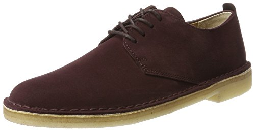 Desert Bordeaux London Burg Homme Suede Violet Clarks Derby Originals UwxXEqP5