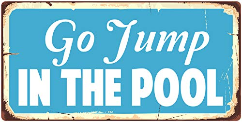 StickerPirate 875HS Go Jump in The Pool 5