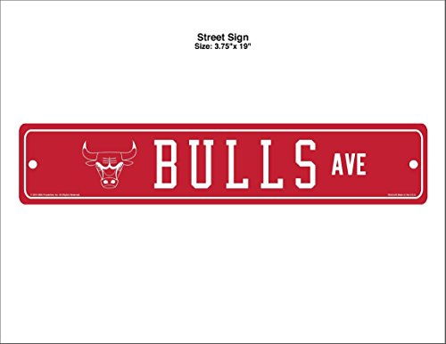 NBA Chicago Bulls Street Sign