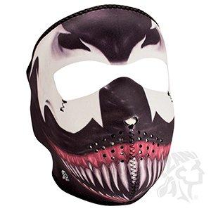 Zan Headgear Adult Neoprene Full-Face Masks One Size Toxic