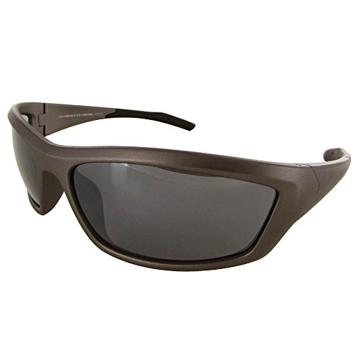 Vuarnet Extreme VE5007 Athletic Sport Wrap Sunglasses Grey - Extreme Sunglasses