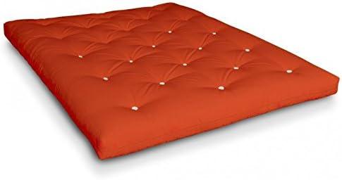 Futon Sakura látex Futon con Coco, algodón y Lana de Oveja de futononline: Amazon.es: Hogar