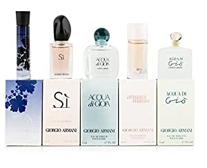 Giorgio Armani Variety Mini Gift Set for Women (Pack of 5)