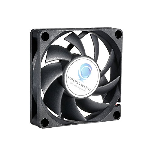 uxcell 70mm Case Fan High Speed CPU Cooler 70 mm PWM Computer Cooling Fan with 4-Pin Connector