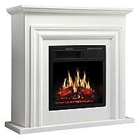 JAMFLY Mantel Electric Fireplace