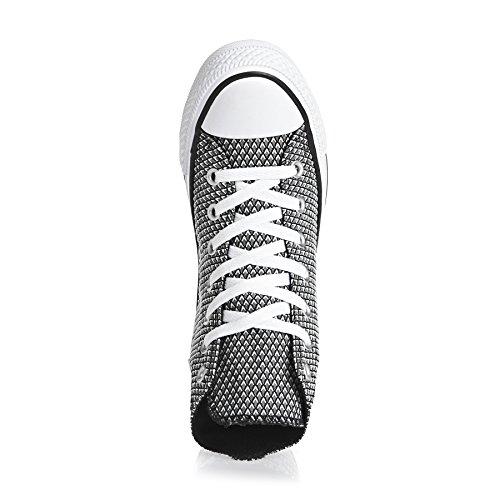 Sneaker Rosa Converse Lea All Metallic Donna Star Hi Alte qwzwSX8n
