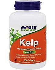 Now Foods | Kelp | 150 mcg Jod | 200 vegantabletter | glutenfri