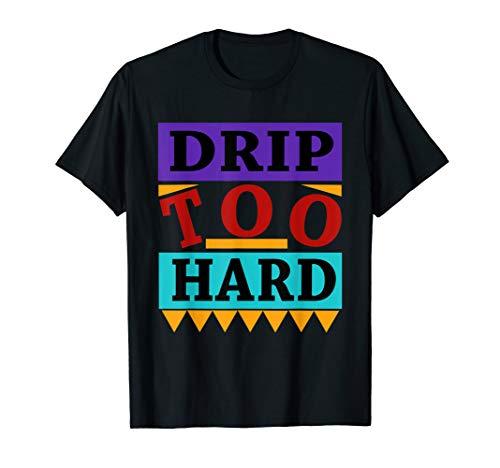 Jordan Classic Mens Tee Graphic (Shirt made to match Jordan 9 Retro Drip too hard T-Shirt)