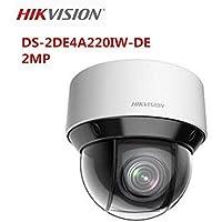 Hikvision 2MP Network IR mini PTZ Camera DS-2DE4A220IW-DE 20X Optical Zoom IR50m IP66 Outdoor Dome Camera ONVIF English Version Support Upgrade