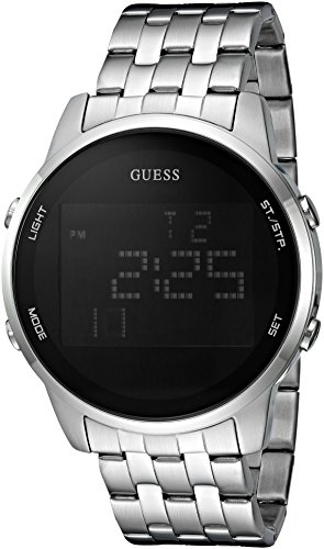 GUESS U0786G1 Silver Tone Stainless Digital