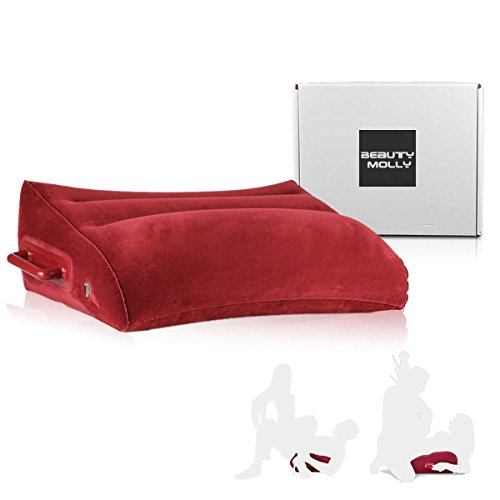 Inflatable Pillow by Beauty Molly wedge shape inflatable position pillow hold up to 300lbs