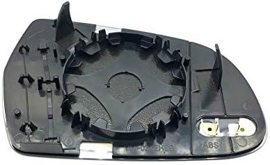 Links Fahrerseite Asph/ärish Spiegelglas mit Platte und Heizung #AM-AIA802-LWAH