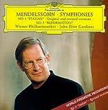 "Mendelssohn:Symphony No.4""Italian"" &No.5""Reformation"""