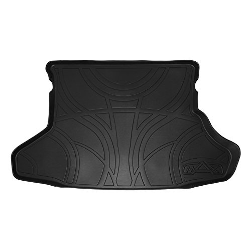 MAXTRAY All Weather Cargo Liner Floor Mat Black for 2012-2015 Toyota Prius (Does Not Fit Prius V or C Models) (Toyota Liner Prius Cargo)