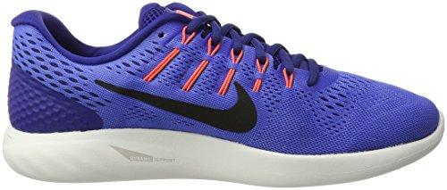 Nike Herren Lunarglide 8 Laufschuhe Mittelblau / Schwarz