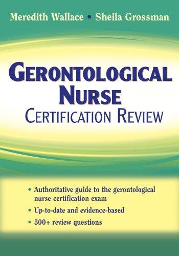 Gerontological Nurse Certification Review Pdf