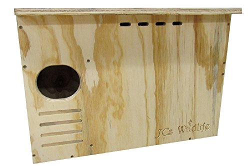 JCs Wildlife Barn Owl Nesting Box Do It Yourself Assembly Kit Barn Owl Nest Box