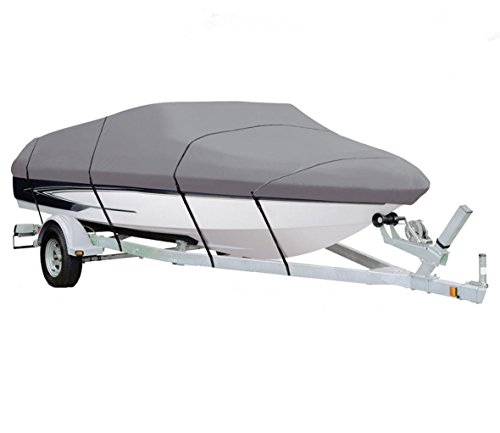 GREY, STORAGE, TRAVEL, MOORING BOAT COVER FOR LOWE ROUGHNECK RN 1756 2015